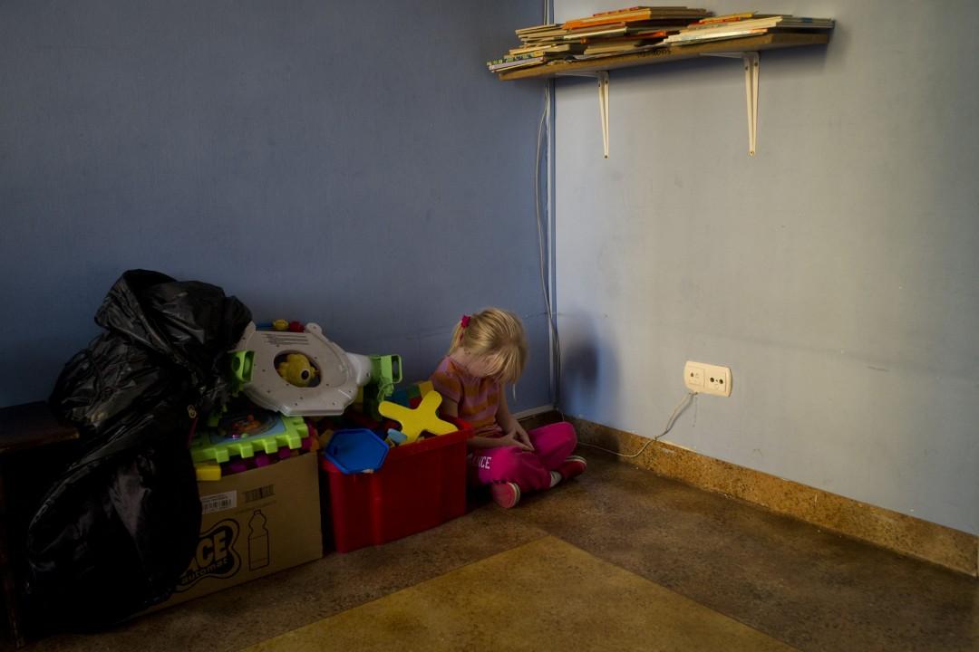 20124 02 16 Nicoleete en el Orfanato WORLD Press photo